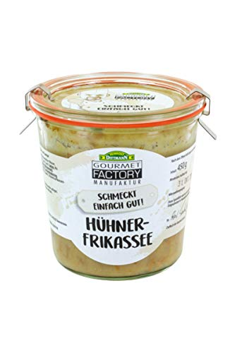 Gourmet Factory Hühnerfrikassee, 3er Pack (3 x 450 g)