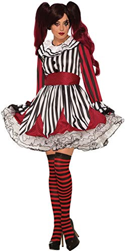Forum Women's Miss Mischief The Clown Costume, As Shown, Standard