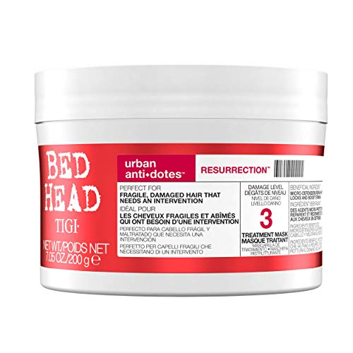 TIGI Bed Head Urban Antidotes Resurrection Hair Mask for Damaged Hair, 200 g