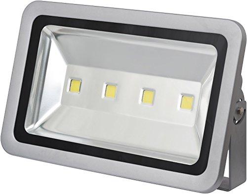 Brennenstuhl Chip-LED-Leuchte / LED Strahler außen (robuster Außenstrahler 2000 Watt, Baustrahler IP65 geprüft, LED Fluter Tageslicht) Farbe: silber