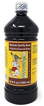 Usumacinta Mexican Vanilla Blend 33.8 Ounces  Amber