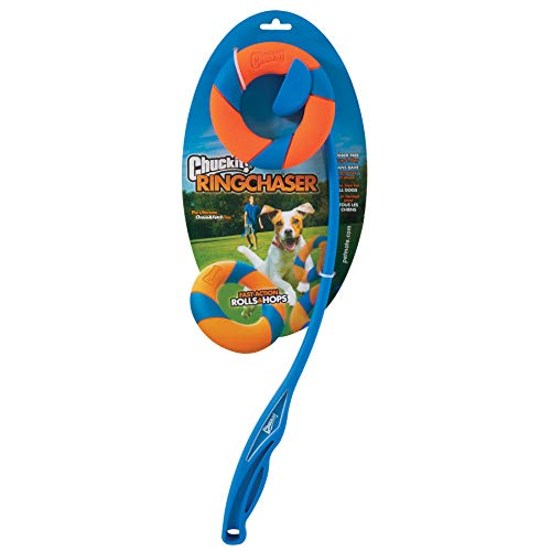 ChuckIt Ring Chaser Launcher Dog Toy Set