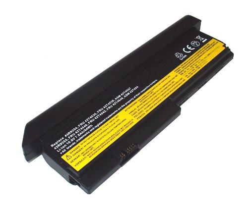 PowerSmart 7800mAh Batería para Lenovo ThinkPad X200, ThinkPad X201, 42T4834, 42T4835, 43R9254, 43R9255, ASM 42T4537, ASM 42T4539, ASM 42T4541, ASM 42T4543, FRU 42T4536, FRU 42T4538