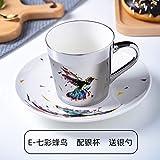 Mug Taza De Café Con Reflejo De Espejo Ins Mirror Reflection Cup Coffee Mug Picasso Ceramic Coffee Cup And Platillo Set Lion Tazas Divertidas Para Amigo Cumpleaños Mejor Regalo, Ver Tabla