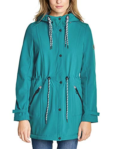 Cecil Damen 100500 Mantel, Lapis Blue, Large (Herstellergröße:L)