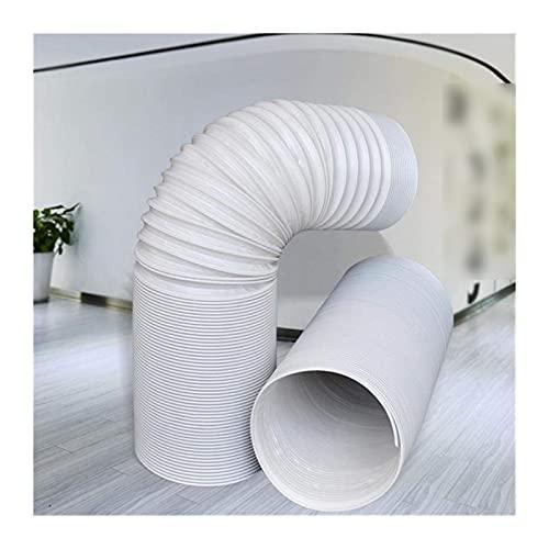 SIWJ Aire Acondicionado Flexible Tubo Extensión De La Manguera De Escape del Aire Acondicionado/Adaptador De Ventana/Largo/En Sentido Antihorario - Tubo De Escape De Aire Acondicionado Portátil Pi Dr