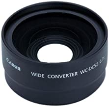 Canon WC-DC52 Wide Converter for the Canon A10, A20, A60, A40, A70, A75, A80, A85, A95, A510, A520, A540 & A570IS Cameras