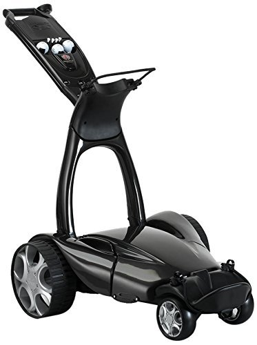 Stewart Golf X9 Follow Cart, Black