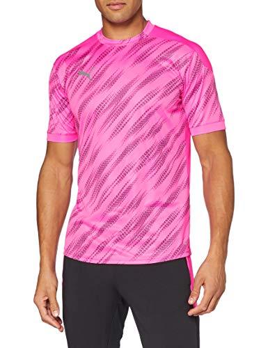 PUMA Herren ftblNXT Graphic Shirt T, Luminous Pink Black, M