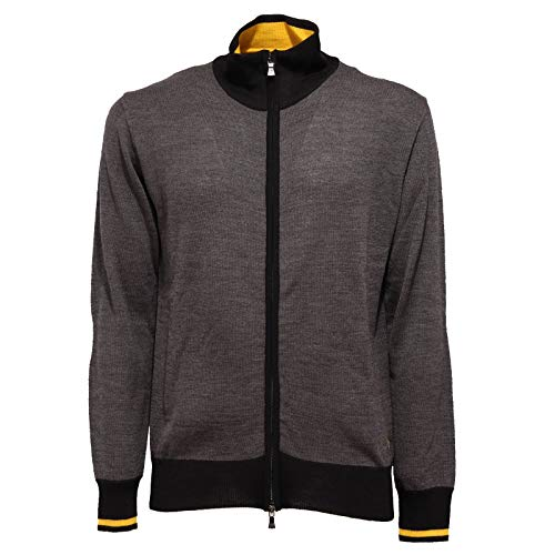Beverly Hills Polo Club 6790K Maglione Uomo Mix Wool Sweater Man [L]