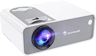 Movie Projector, Outdoor and Home Video Projector for Cinema, Supported 1080P, Portable Mini Theater Projector Built in Sp...