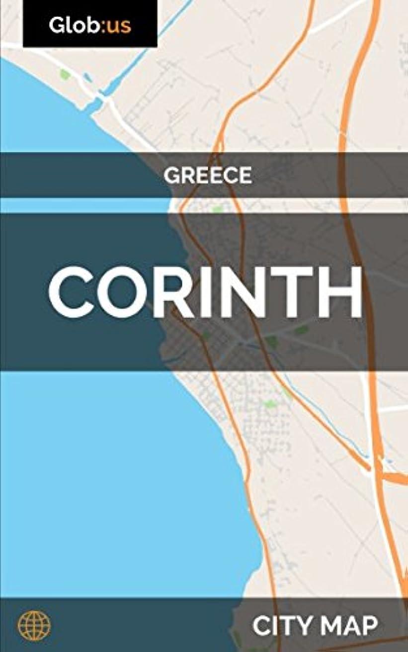 難破船落胆させるペナルティCorinth, Greece - City Map