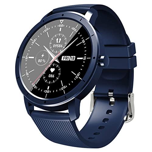 ZWG Reloj inteligente para hombre IP68 impermeable Bluetooth Sleep Monitor Fitness ritmo cardíaco Tracker Smartwatch (B)