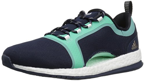 adidas Damen Pure Boost X TR 2 Pureboost, Collegiate Navy/Black/Easy Green, 40 EU