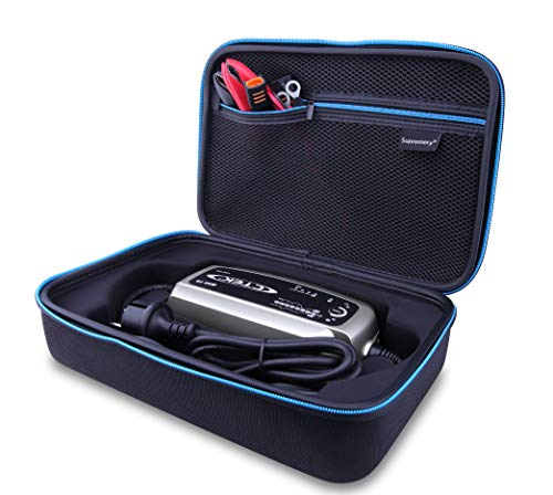Supremery Tasche für CTEK MXS 10 Multi-Funktions Batterieladegerät Case Schutz-Hülle Etui Tragetasche