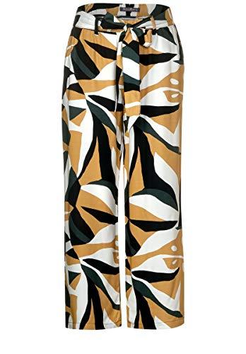 Street One Damen Wide Leg Hose mit Muster 26
