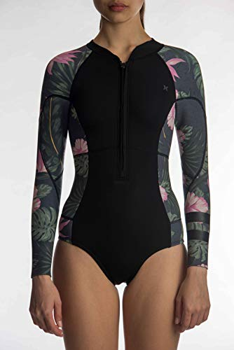 Hurley W ADV Plus 2Mm Springsuit Wetsuit, Women's, Anthracite, 6