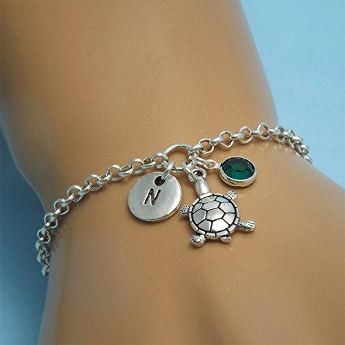 Silver turtle bracelet Sea turtle bracelet Turtle jewelry Silver turtle charm Tortoise bracelet Tortoise jewelry Turtle gifts for her Turtle jewellery Ocean bracelet Sea bracelet Sea turtle bracelet