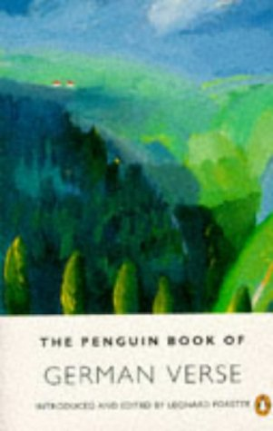 German Verse, The Penguin Book of: Parallel Text Edition (Parallel Text, Penguin)