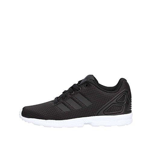 adidas ZX Flux C, Scarpe da Fitness Unisex-Bambini, Nero (Negbás/Negbás/Ftwbla 000), 28 EU