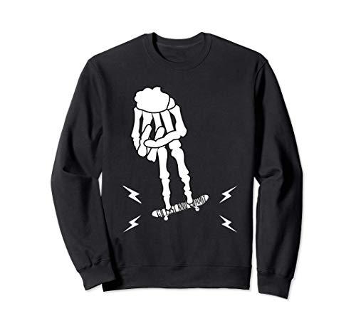 Fingerboard Skateboard Gerippe Board Skating Skate Sweatshirt