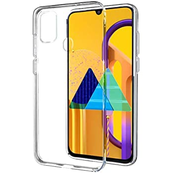 Amazon Brand - Solimo Soft & Flexible Back Phone Case for Samsung Galaxy M21 / M30s  (Transparent)