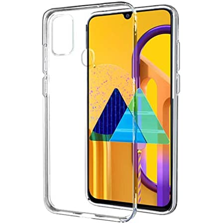 Amazon Brand - Solimo Back Phone Case for Samsung Galaxy M21 / M30s (Flexible|Transparent)