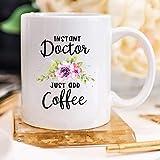 NA Regalo para Doctor Taza para Doctor Regalo Doctor en Medicina Idea de Regalo Doctor Taza de café Reconocimiento médico Taza de Doctor Regalo de graduación de Doctor