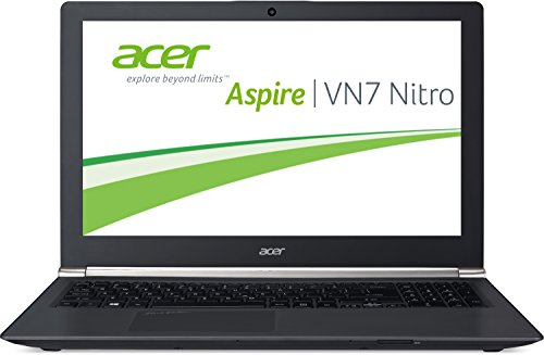 Acer Aspire VN7-591G-75NP 39,6 cm (15,6 Zoll Full HD) Laptop (Intel Core i7-4720HQ, 8GB RAM, 128GB SSD + 1TB HDD, Nvidia GeForce GTX 960M, Win 8.1) schwarz