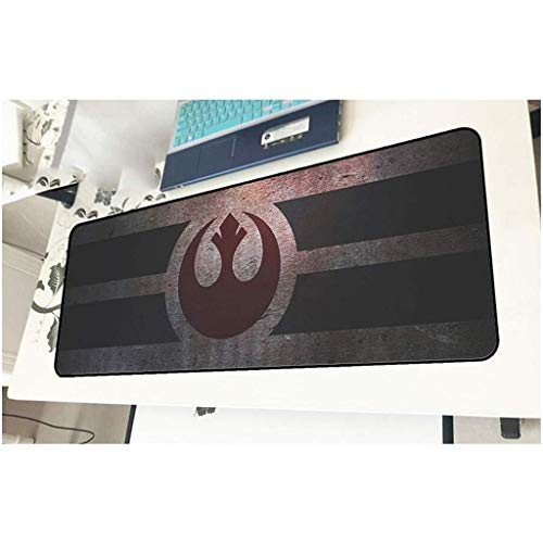 Gaming Mouse Pad Grande Teclado Ratón Mat Star Wars Estera del Juego de Cafe Mat XXL Extended Mousepad for PC del Ordenador Alfombrilla de ratón (Color : A, Size : 900x400x3mm)