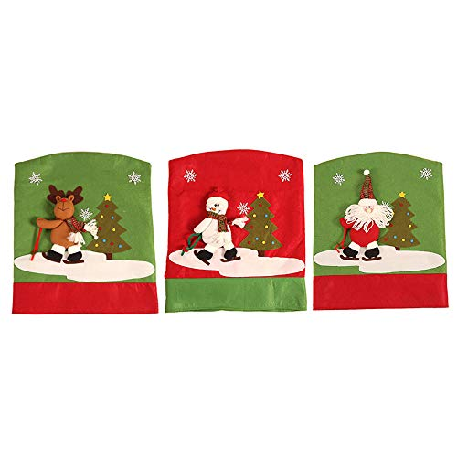 fundas para sillas de comedor navideñas fabricante BIASTNR
