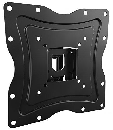 RICOO Fernseher TV Wand-Halterung Flach Schwenkbar Neigbar (N0222) Universal Fernsehhalterung für 19-47 Zoll (bis 30-Kg, Max-VESA 200x200) Curved LCD OLED Bildschirm