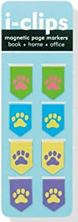 Pawprints i-clips Magnetic Page Markers (Set of 8 Magnetic Bookmarks) by Peter Pauper Press Inc. (2012) Stationery