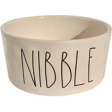 Rae Dunn Nibble Dog Bowl