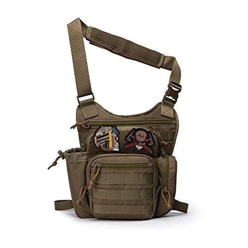 Mardingtop Tactical Sling Bag Military Gear Shoulder Backpack for...