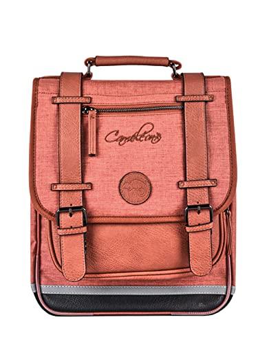 Sac à Dos 38cm Caméléon Vintage Color avec 2...