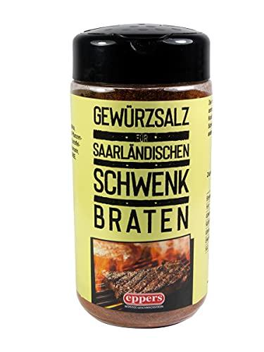 Gewürzsalz für saarländischen Schwenkbraten , 250g | Gewürz-Streuer für Fleischgerichte