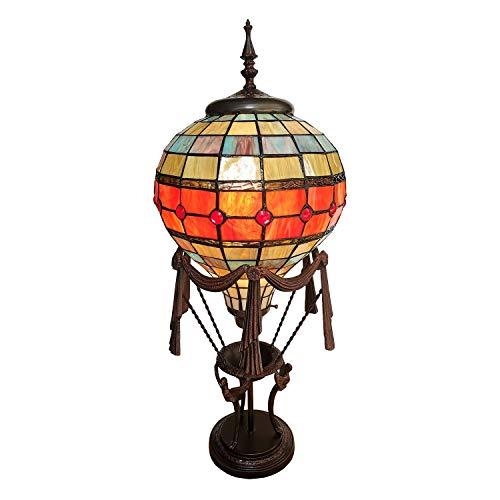 Lumilamp 5LL-6016 Tiffany - Lámpara de mesa (31 x 31 x 71 cm)