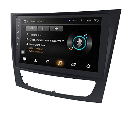 Android 10 Car Stereo for Mercedez-Benz E-Class W211 W463 W209 W219 Double Din 9 Inch Touch Screen Car Navigation Supports Steering Wheel Control Mirror-Link WiFi 4G TPMS GPS USB Bluetooth Head Unit