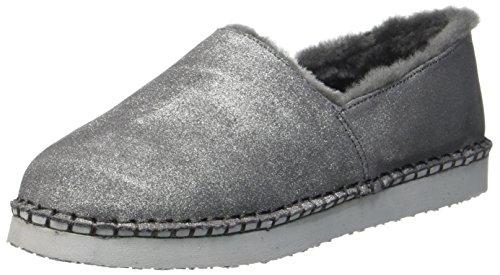 ARA Damen Cosy Pantoffeln, Beige (Taupe-Metallic), 38 EU