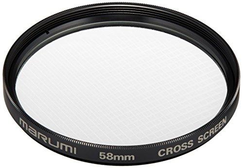 MARUMI カメラ用 フィルター クロス スクリーン 58mm 光条効果 フィルター 203098