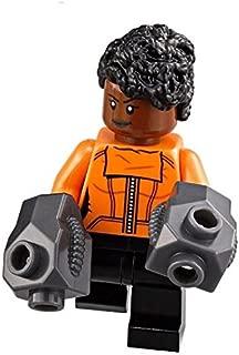 LEGO Marvel: The Black Panther - Shuri Minifigure w/ gauntlets (2018)