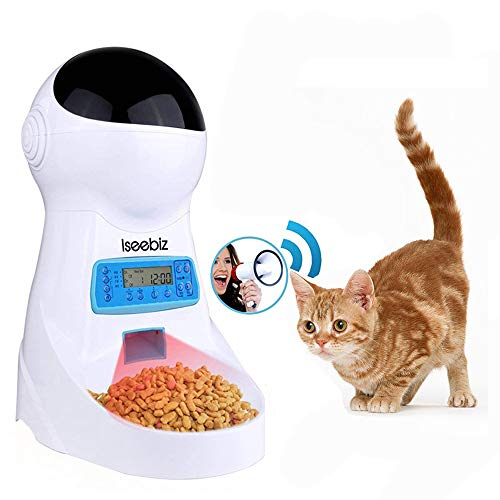 Iseebiz『犬猫用自動給餌器スマホで遠隔操作』