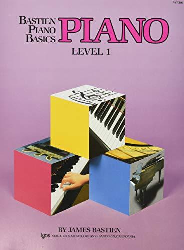WP201 - Bastien Piano Basics - Piano Level 1 PDF Book
