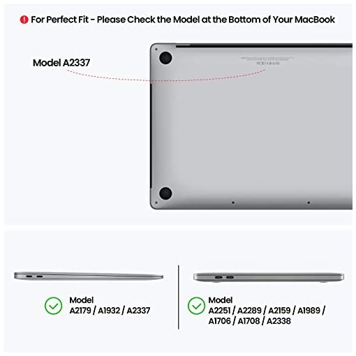"""tomtoc Maletín para 13"""" MacBook Air M1 2018-2021/A2337 A2179 A1932, 13"""" MacBook Pro M1 2016-2021/A2338 A2251 A2289 A2159, Bandolera Antigoples para Portátil con Bolsillo Organizado para Accesorios 6"""