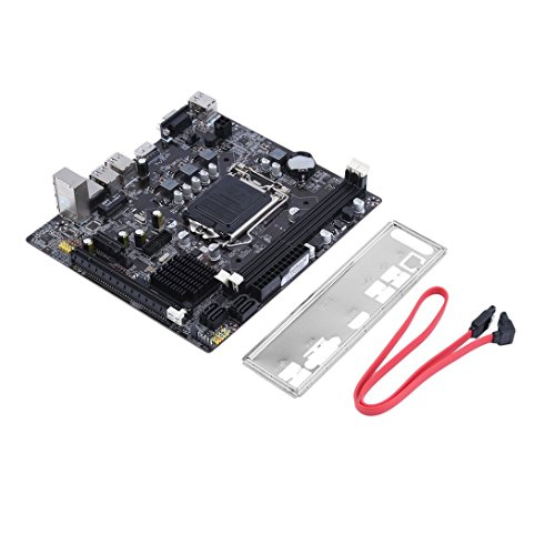 Swiftswan B75-1155 Desktop-Computer Mainboard Durable Motherboard CPU-Schnittstelle LGA 1155
