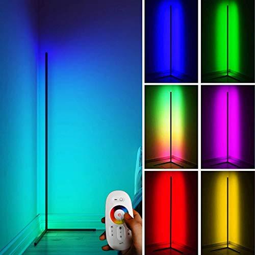 QJUZO Stehlampe RGB LED Dimmbar 20W...