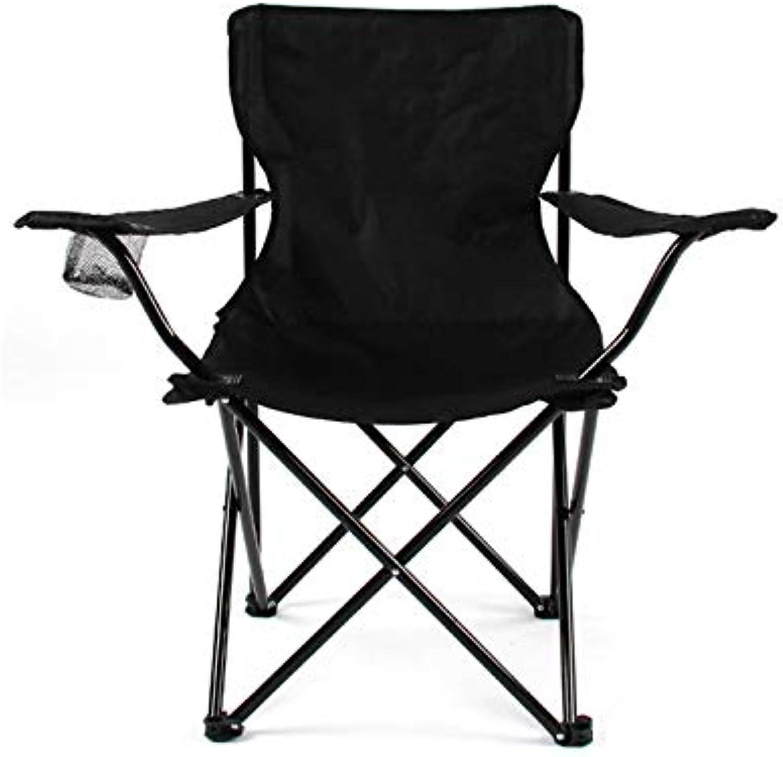 Folding Chair Cup Holder Armrest,Collapsible Solid color Aluminum Alloy Oversized Heavy Duty(82cm43cm82cm)