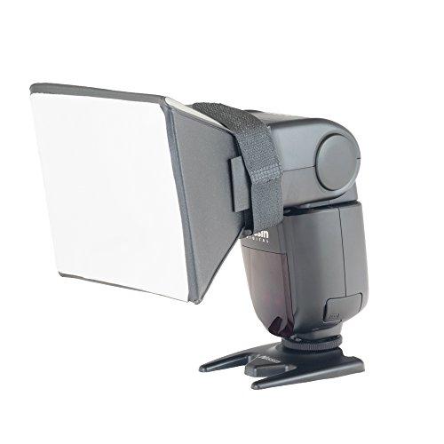 Phot-R Universal Blitz Diffusor Softbox 13x10cm Professional Speedlite Diffus.