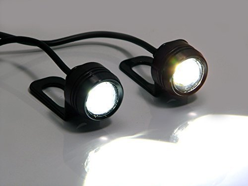 Universal Beamer, 3 W, CREE LED Tagfahrleuchten Tagfahrlicht für Motorrad Roller Motorrad, Trikes und Quads